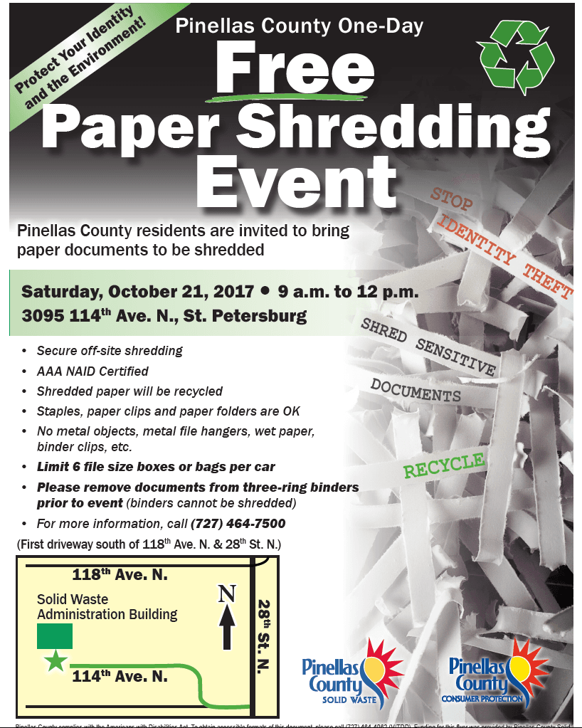 Free Paper Shredding Event