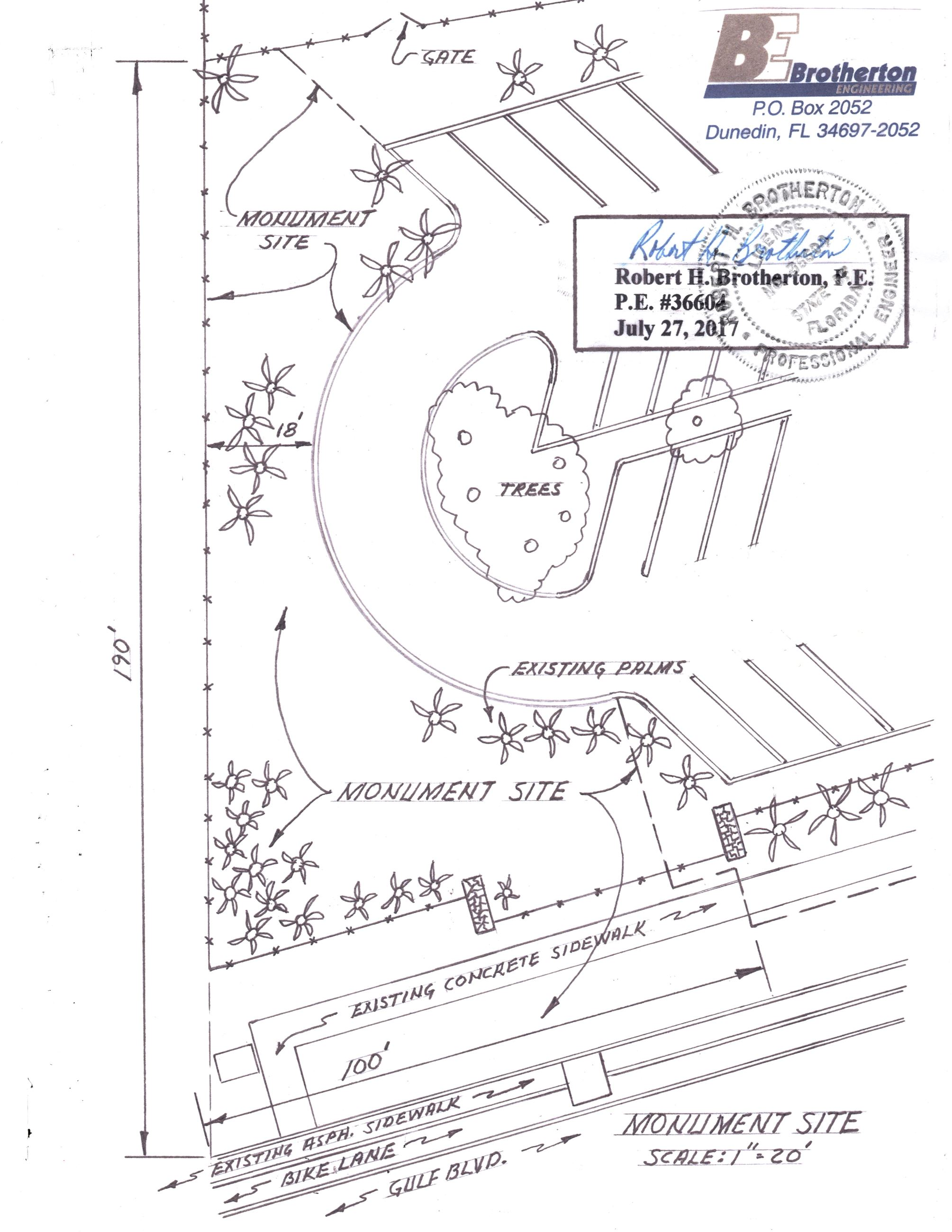 Monument Site Plan Signed 2