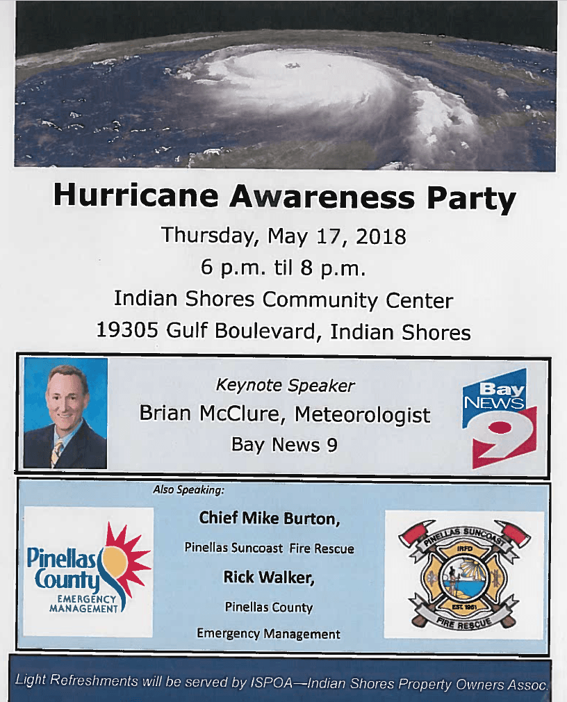 Hurricane Awareness May 2018