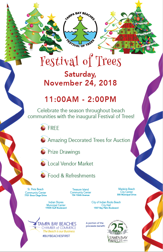 Festival of Trees flyer