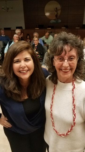 Lisa Unger with Rita Marlow