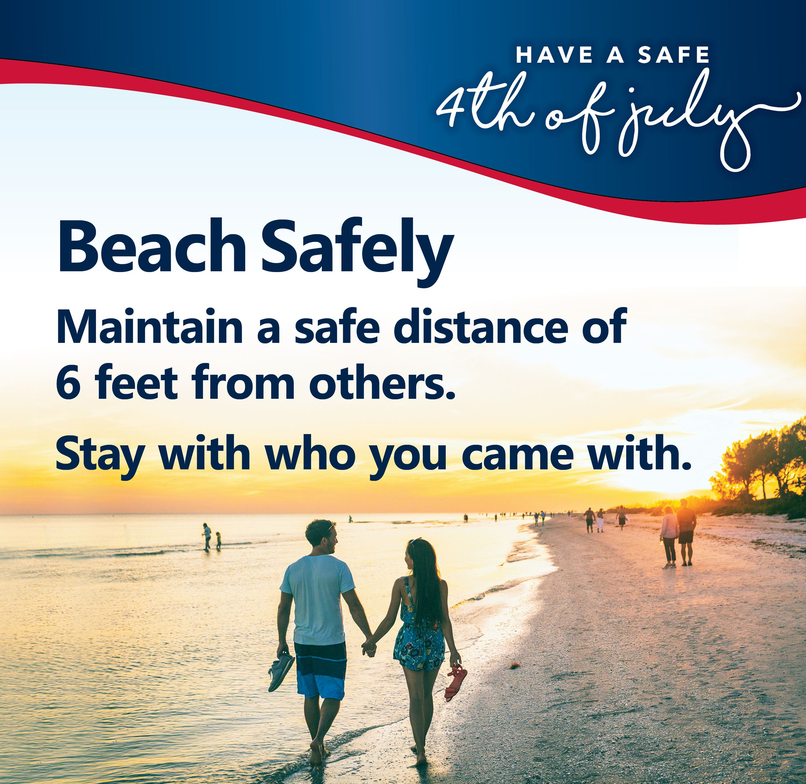 July Fourth Beach Safety