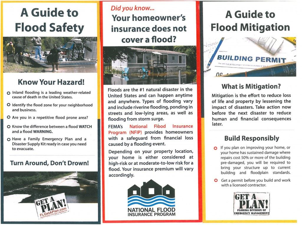 Flood-Pamphlets