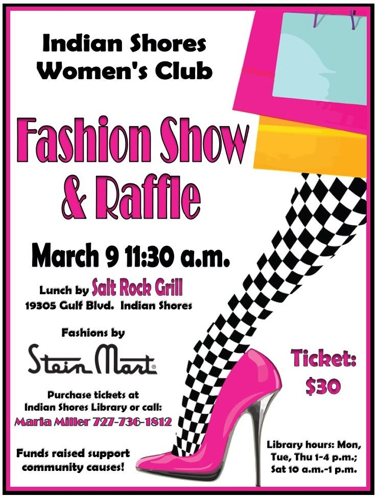 2019 Women's Club Fashion Show and Raffle
