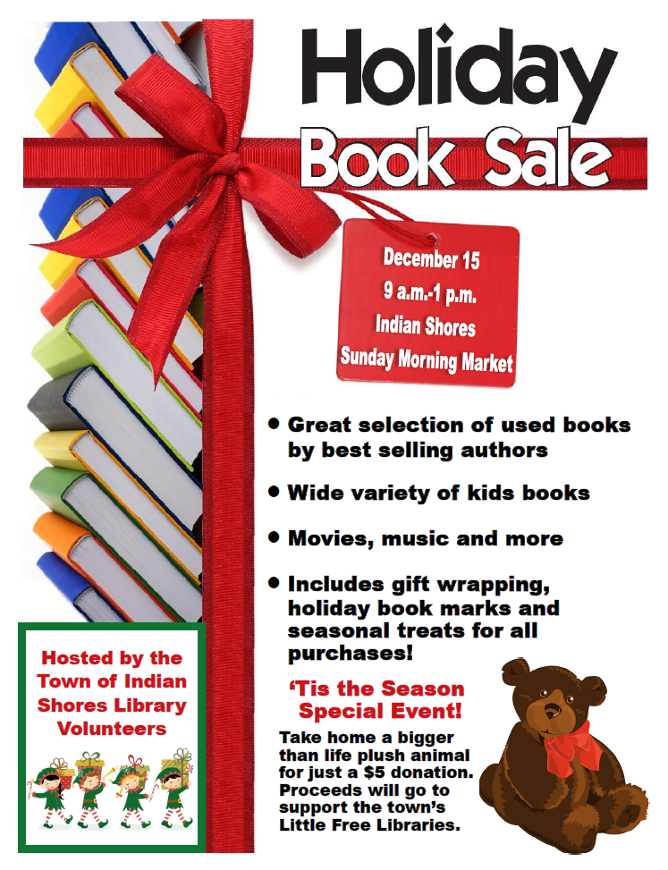 Holiday Book Sale Sunday, December 15, 2019